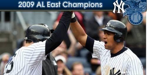 2009 AL East Champions