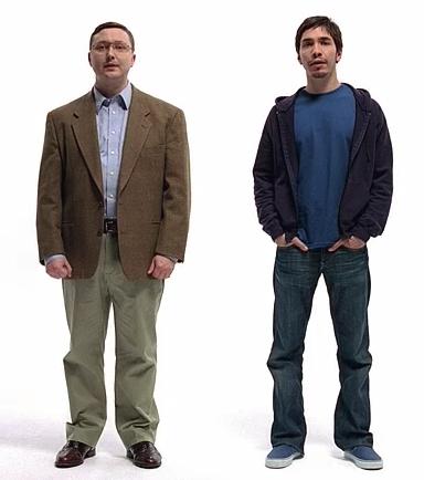 Hello, I'm a Mac.  And I'm a PC.