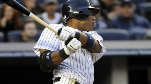 Robinson Cano produced the Yanks' first run on a solo homer in the sixth. (Bill Kostroun_AP)