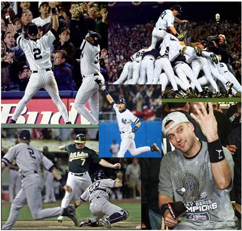 Jeter's Postseason Moments