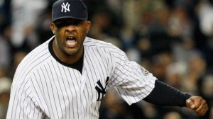 Oct 16, 2009.  CC Sabathia tossed eight strong innings for his second win of the 2009 postseason. (AP)