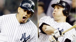 Oct 9, 2009--Alex Rodriguez and Mark Teixeira went deep in the ninth and 11th innings, respectively. (AP)
