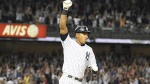 Aug 7--Alex Rodriguez celebrates as he rounds the bases after his walk-off homer Friday.  (Getty Images)