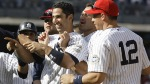 Jul 4--Jorge Posada (center) had missed the previous two games with a thumb injury. (AP)