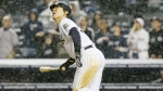May 6--Hideki Matsui made the final out of the ballgame in the 10th on Wednesday. (AP)