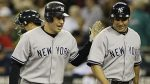 Sep 19--Mark Teixeira and Johnny Damon combined for seven hits, six RBIs and four runs scored. (AP)
